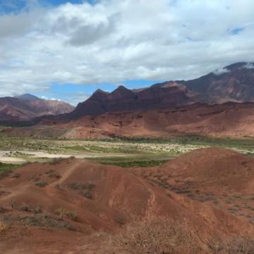 De Salta a Cafayate, Valle de Lerma al Valle Calchaquí (Tramo 1)