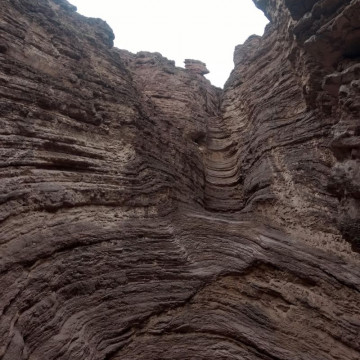 Desde Salta a Cafayate, Reserva Natural Quebrada de la Conchas (Tramo 2)
